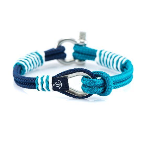 Сине-Голубой браслет с морской тематики — THIMBLE 727 SLIM