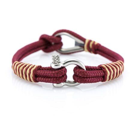 Женский Красный браслет морской тематики — THIMBLE 732 SLIM