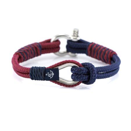 Красно-синий браслет морской тематики для Мужчин и Женщин — THIMBLE 736 SLIM