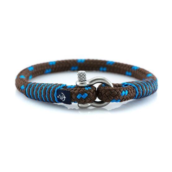 Тонкий Коричневый браслет с синим для мужчин и женщин — CORSAIR SLIM 880
