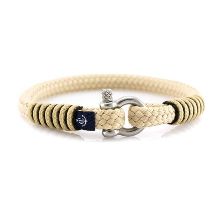 Тонкий Бежевый браслет для мужчин и женщин — CORSAIR SLIM 884