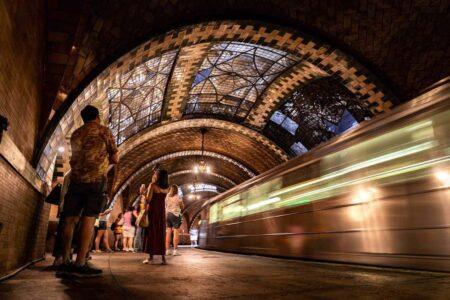 Красивые станции Нью-йоркского метро