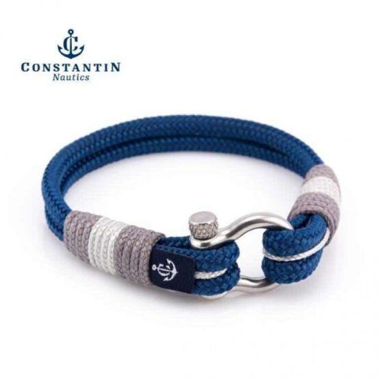 Морской браслет синего цвета для мужчин и женщин — YACHTING CNB #5005