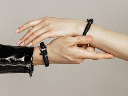 Черный браслет – браслеты фото