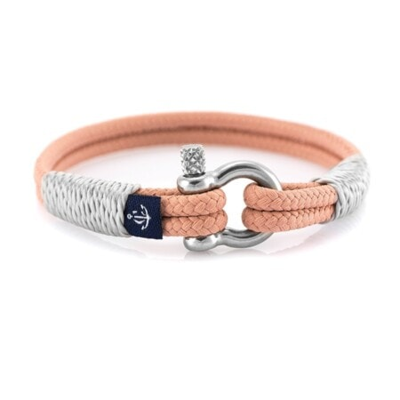 Морской персиковый браслет для женщин — № 0804 - photo 1