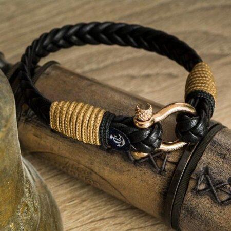В тренде: Кожаные браслеты фото 7