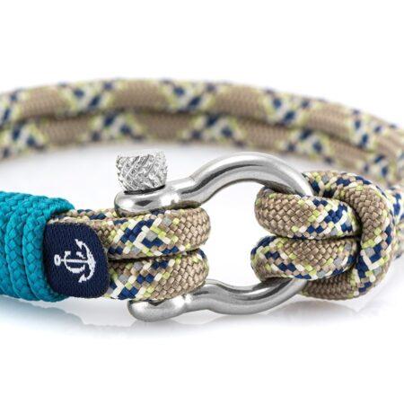 Браслет комбинированный для женщин и мужчин в морском стиле — № 5117