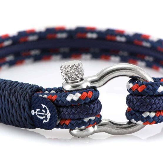 Браслет комбинированный для женщин и мужчин в морском стиле — № 5118