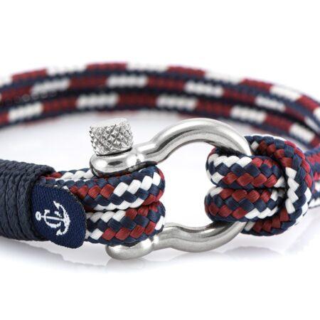 Морской браслет комбинированный для мужчин и женщин — № 5119