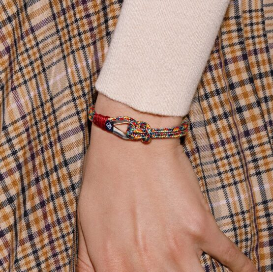 Разноцветные парные браслеты — № 961
