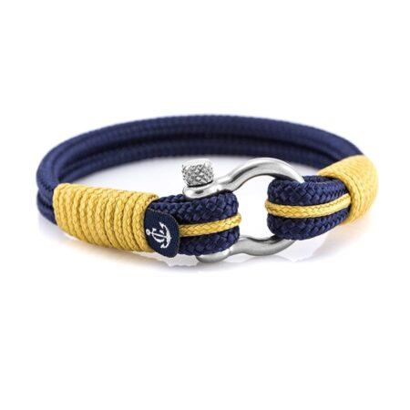 Цветной браслет для мужчин и женщин с чёрным замком — № 4101 (Копировать)