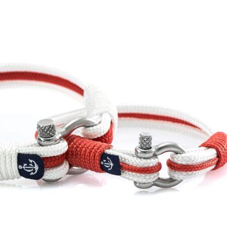 Парные браслеты бело-синего цвета — № 959 (Копировать)