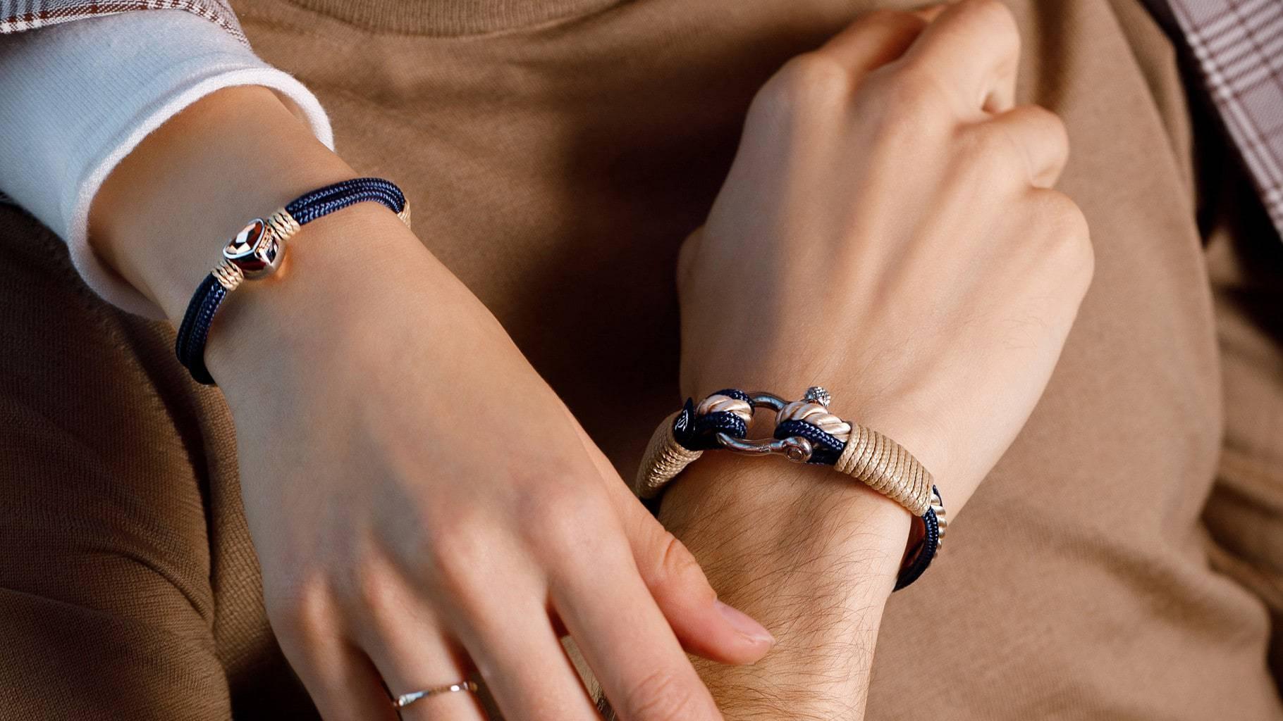Парные браслеты: из каких материалов выбрать?