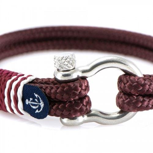 Красно-чёрный браслет для мужчин и женщин — № 5107 (Копировать)