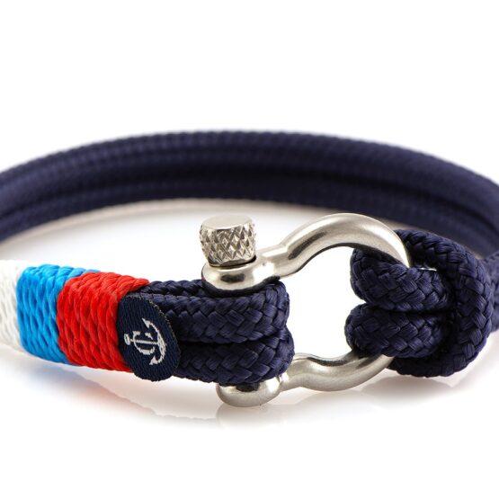 Чёрный браслет с узлом для женщин и мужчин — № 5135 (Копировать)